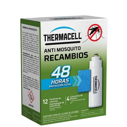 Thermacell Recambio Anti Mosquitos Pack 48 Horas
