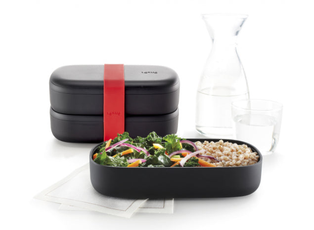 LunchBox To Go Lékué Black Limited Edition