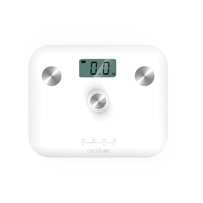 Báscula Surface Precision EcoPower 10100 Full Healthy White Cecotec