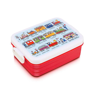 "Lunch Box ""Trenes"""