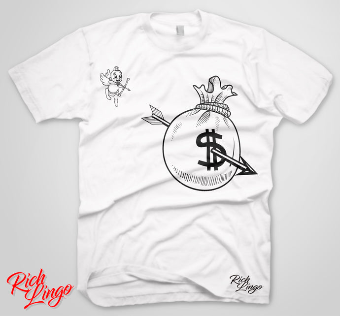 Cupid money bags tee