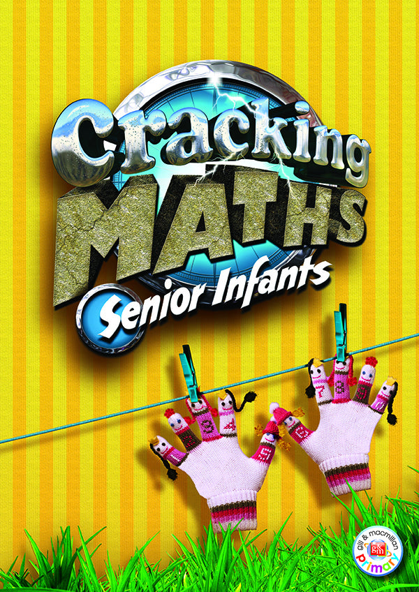 Cracking Maths Senior Infants(inc Home School Links Book)