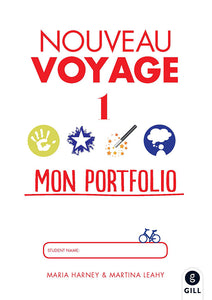 Nouveau Voyage 1 Mon Portfolio Booklet French for Junior Cycle
