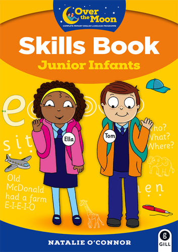 OVER THE MOON JUNIOR INFANTS SKILLS BK