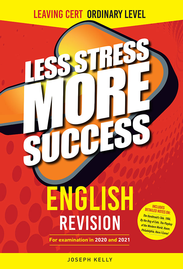 LSMS ENGLISH Revision for Leaving Certificate Ordinary Level for examination in 2020 & 2021