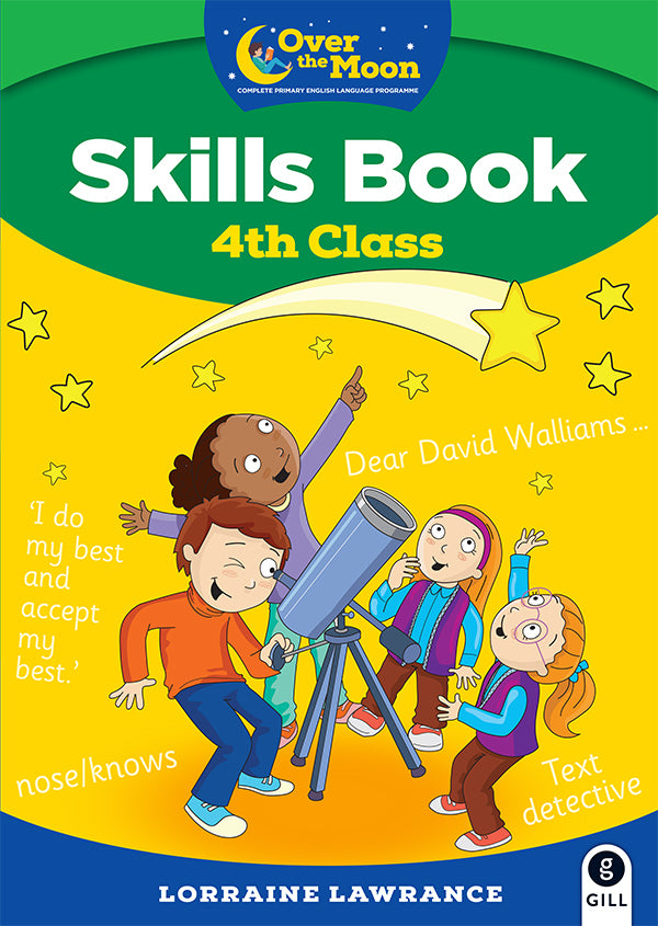 OVER THE MOON 4th Class Skills Book and Literacy Portfolio Pack