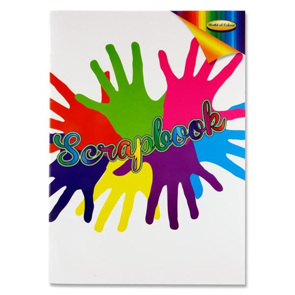 World of Colour Woc A3 60pg Scrapbook Asst Colour Pages