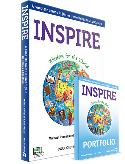 Inspire (3 year book) Textbook & Portfolio Book