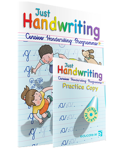 Just Handwriting - Junior Infants Cursive + Practice Copy