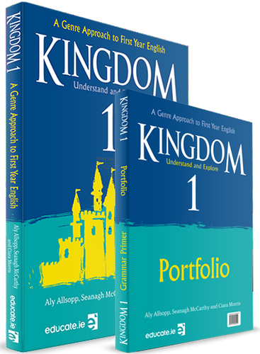 Kingdom 1 - Junior Cycle English - Pack