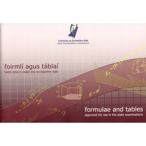 Maths Formulae & Log Tables