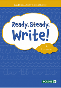 Ready, Steady, Write! Cursive 4 - Fourth Class