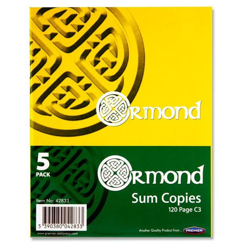 120pg maths copy Ormond 5 pack
