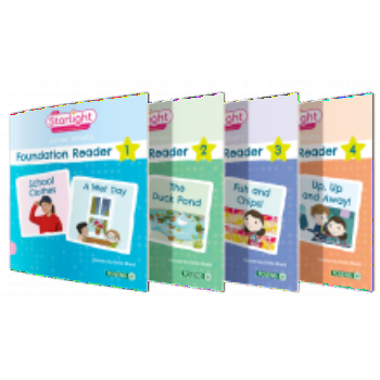 Starlight - Junior Infants - Foundation Level Readers 1-4 Pack