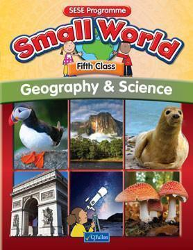 Small World Geography/Science 5th class -USED BOOK -