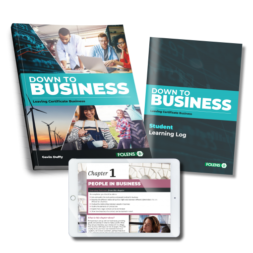Down to Business set (TB & Student Learning Log)