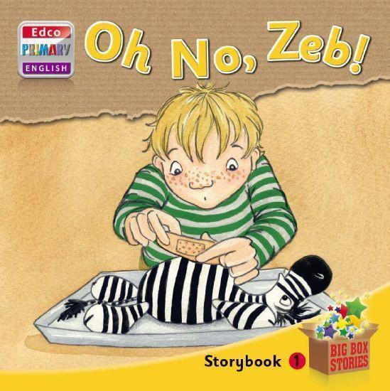 Big Box Adventures - Oh No, Zeb! - Storybook 1