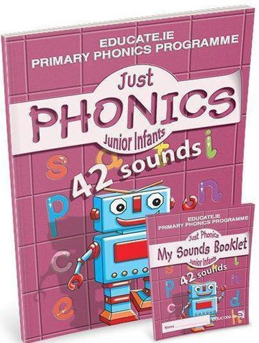 Just Phonics - Junior Infants 2 - 42 sounds