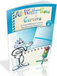 All Write Now Cursive Book A - 3rd Class