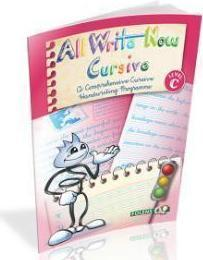 All Write Now Cursive Book C - 5th Class