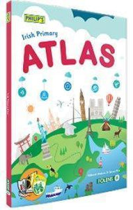 Philip's Irish Primary Atlas - Textbook ONLY - New 2016 Edition - by Folens