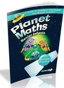 Planet Maths - Senior Infants - Textbook and Practice Book