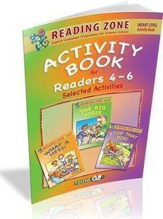 Reading Zone - Senior Infants Activity Book for Readers 4-6