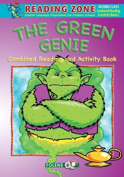 Reading Zone - The Green Genie Reading & Activity Book