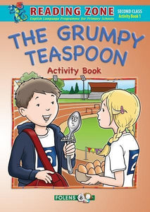 Reading Zone - The Grumpy Teaspoon - Activity Book