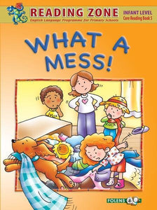 Reading Zone - What a Mess - Core Book