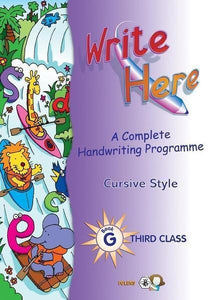 Write Here G - 3rd Class (Cursive Style)