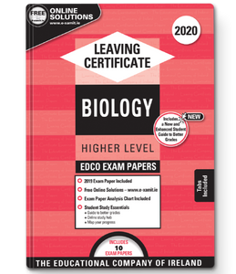 Exam Papers (2020) - Leaving Cert - Biology - Higher Level