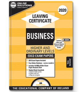 Exam Papers (2020) - Leaving Cert - Business - Higher & Ordinary Levels