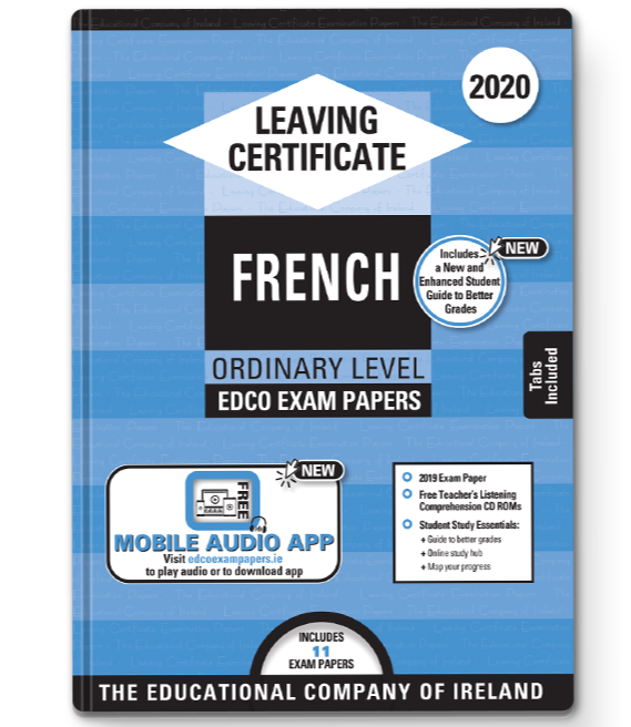 Exam Papers (2020) - Leaving Cert - French - Ordinary Level