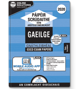 Exam Papers (2020) - Leaving Cert - Gaeilge / Irish - Ordinary Level
