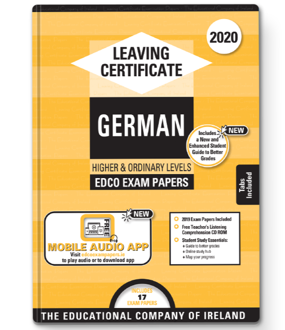 Exam Papers (2020) - Leaving Cert - German - Higher & Ordinary Levels