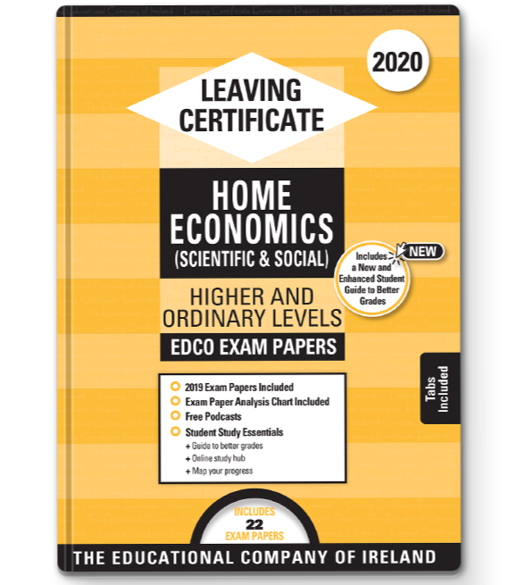 Exam Papers (2020) - Leaving Cert - Home Economics - Higher & Ordinary Levels