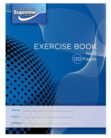 Exercise Copies  120pg No.11  Multipack 10