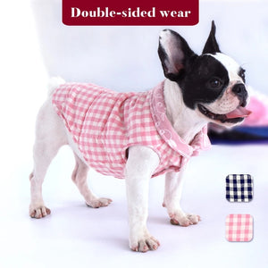 Quilted Reversible Dog Vests - 2 in 1 Design