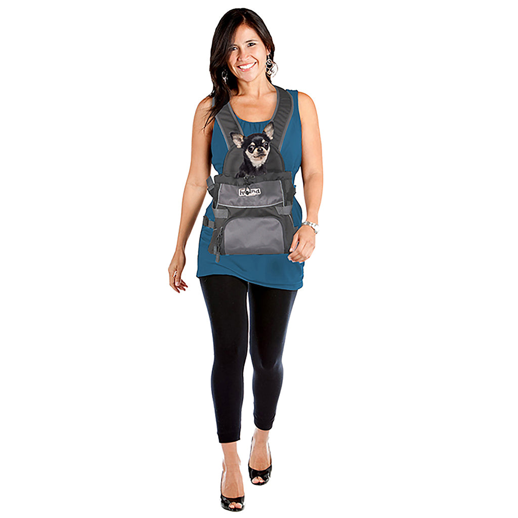 Pooch Pouch Front Carrier Gray Small