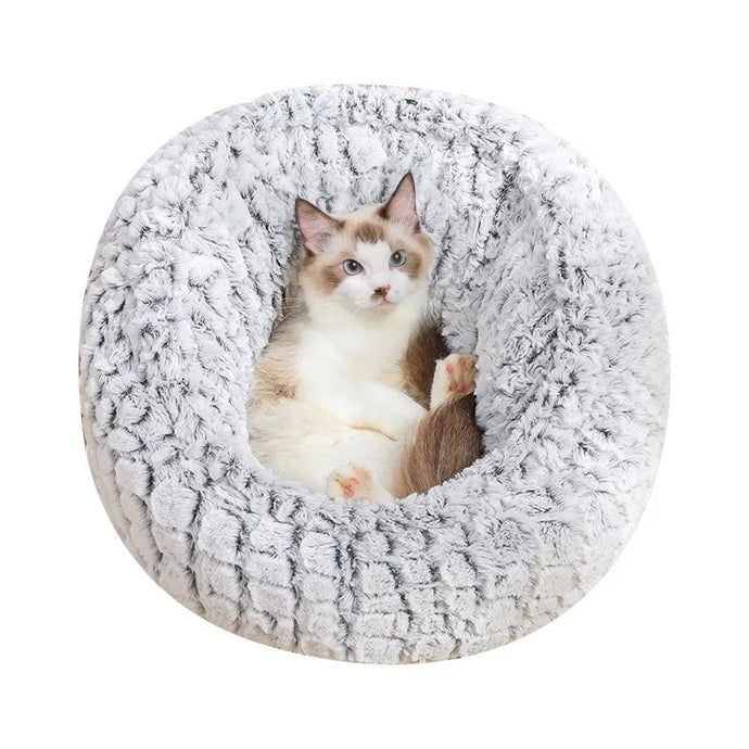 Calming Bed - Adjustable Diameter - Great for small Dog or Cat - 60cm
