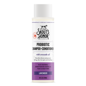 Skouts Probiotic Shampoo+Conditioner - Lavender 16oz