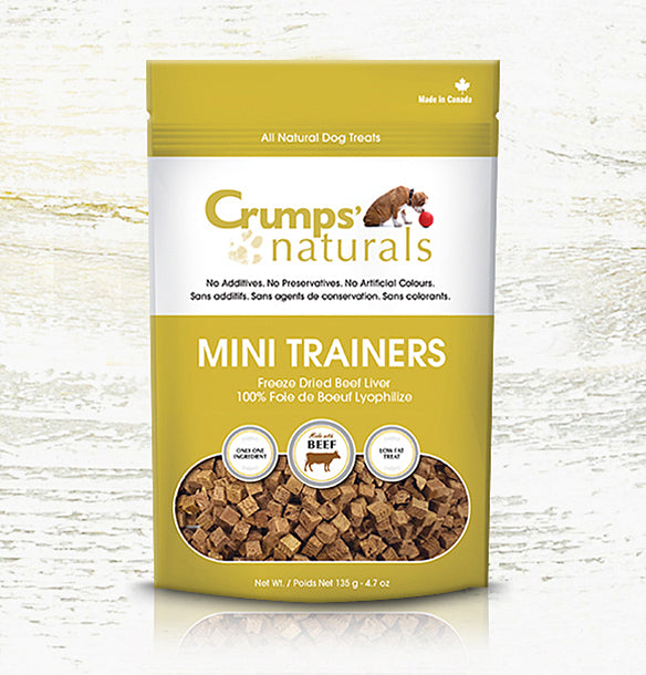 Crumps' Naturals Dog Mini Trainers Freeze Dried Beef