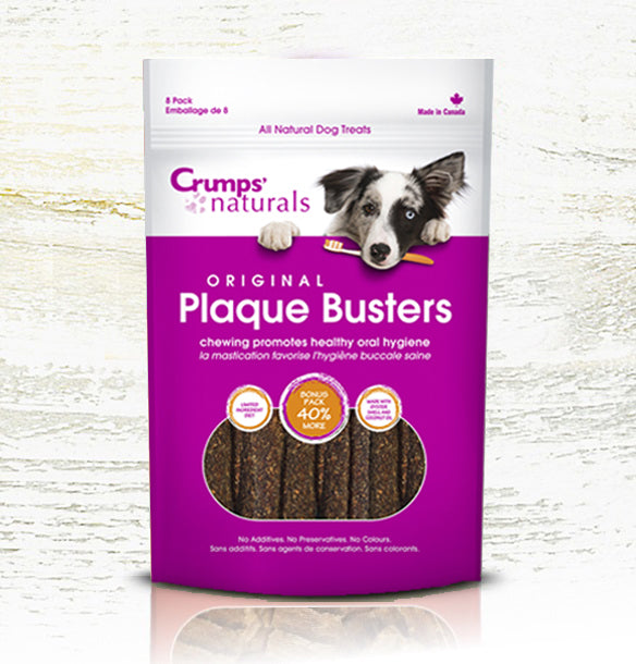Crumps' Naturals Dog Plaque Busters 4.5