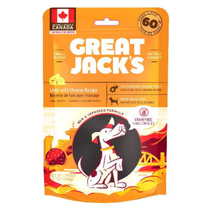 Great Jacks Liver with Cheese Recipe dog treats