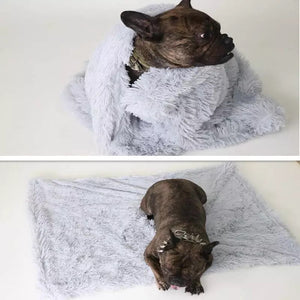 Super Soft Faux Fur Dog Blanket