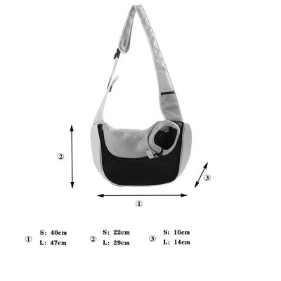 Pet Shoulder Strap Crossbody Carrier