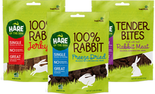 f the Dog Bagged Rabbit Treats for Dogs