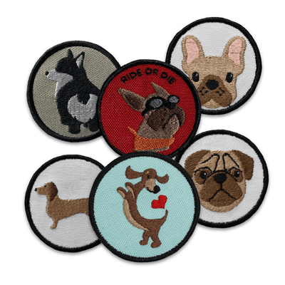 K9 Sport Sack Dog Breed Patches