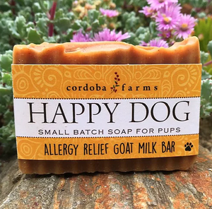 Cordoba Farms Happy Dog Allergy Relief Goat Milk Bar